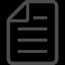 シンプルな書類ファイル